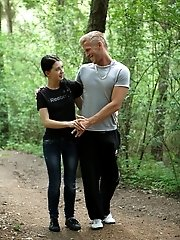 Against A Tree, On The Forest Floor, It Doesn't Matter Where He Fucks Her, He's Just Grateful He Fin