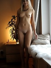 Juicy Fresh Teen With Bushy Crotch Like To Be In Front Of The Camera Showing The Best Side Of Her As